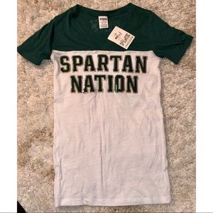 Victoria's Secret PINK Michigan State Top